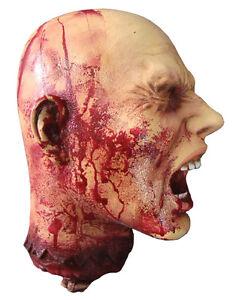 HALLOWEEN REALISTIC LATEX HEAD BODY PART CEMETARY GRAVEYARD DECORATION PROP