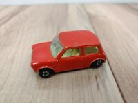 1970 Matchbox Series Superfast 29 Racing Mini Lesney England Red