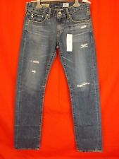 NWT AG ADRIANO GOLDSCHMIED THE TOMBOY RELAXED STRAIGHT 100% COTTON USA JEANS 25