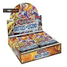 YuGiOh Battles of Legend Light's Revenge Sealed Booster Box 24 Packs TCG Minerva