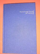 Thomas und Joachim Wrensch Braunschweiger Kanon der Literatur