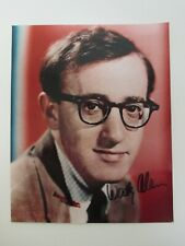 "SIGNED Woody Allen 8x10"" Photo AUTOGRAPHED Vintage Color Picture -Actor Director"