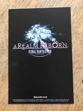 5 Art Cards Exclusive Final Fantasy XIV 14 A Realm Reborn - Brand new & sealed