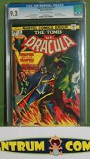 Tomb of Dracula #21 CGC 9.2  -  1974 Marvel classic with off-white/white pages