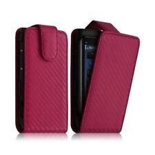 Housse Coque Etui Gaufré pour Nokia N8 Couleur Rose Fuschia