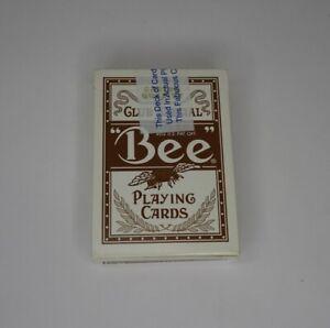 Bee Brown Diamond Bellagio Casino Playing Cards Las Vegas  Game Used Sealed