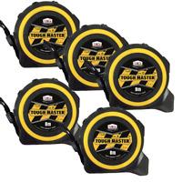Tough Master 8m Tape Measure 8 Metre 26ft Tylon 0-33-726 STA033726 Pack of 5