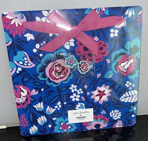 Vera Bradley Bloom Berry Magnet Memo Board with Magnets College Dorm Room
