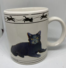 Vintage Cat Mug Cat Lovers Limited Collectable Cup Turkish Van Chartreux Kitten