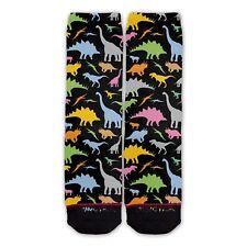 Function - Dinosaur Pattern Socks Dino Jurassic park cartoon shaped black T rex