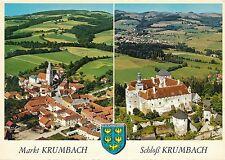 AK aus Markt und Schloß Krumbach, Alpine Luftbild, Niederösterreich    28/11/14