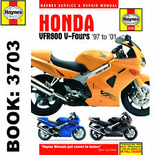Honda VFR800 V-Fours 1997-2001 Haynes Workshop Manual