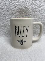New Rae Dunn BUSY BEE 🐝 Mug With Yellow Interior