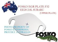 EGR UPPER BLANKING PLATE FOR SUBARU FORESTER & OUTBACK 2L EE20, FOSKO F32