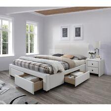 ♥ Modernes Polsterbett Hamptons Doppelbett, Ehebett incl. Lattenrost 160x200cm