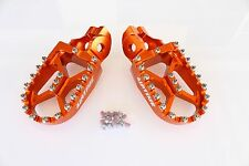 AIRTIME BILLET CNC WIDE FAT FOOT PEGS KTM 250 300 XC XCW (2017-2018 ) - OR5516