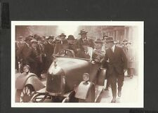 Nostalgia Postcard  General Strike Ramsay Macdonald on way to Number 10 -1926