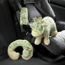 3 Piece Baby Infant Giraffe Travel Set Neck Rest  Soft~Cute~Cuddly  NIP