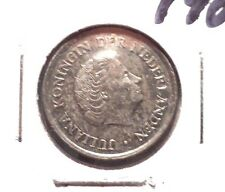 CIRCULATED 1980 25 CENTS NETHERLANDS COIN! (71215)