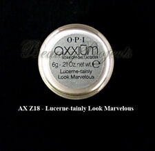 OPI Axxium Soak Off Gel Nail Lacquer Lucernetainly Look Marvelous AXZ18 .21oz