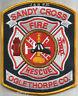 "Sandy Cross  Fire - Rescue / Oglethorpe County, GA  (4"" x 5"" size) fire patch"