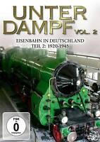 DVD Unter Dampf 2 Eisenbahn In Deutschland 1920-1945