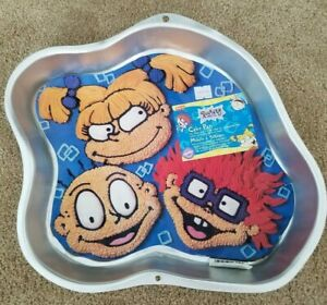 1998 WILTON RUGRATS - TOMMY,CHUCKIE & ANGELICA 2105-3050
