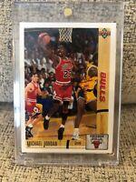 Michael Jordan Upper Deck 91/92 Basketball Card Inside Case