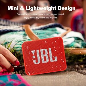 JBL GO2 Wireless Bluetooth Speaker Waterproof Outdoor Portable Mini Speaker