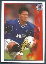 PANINI-FOLLOW FOLLOW THE GERS 2001- #104-RANGERS-MICHAEL MOLS-MAN WITH A MISSION