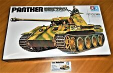 WWII german Tank Panzer  Sd.Kfz.171 Ausf.A Panther 1:35 Tamiya 35065 Neu