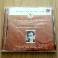 Benjamin Britten – The Rarities (2 x CD 2001) SEALED British Music Collection