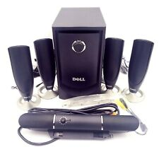 Dell MMS 5650 5.1-Channel Surround Sound PC Speakers System Opened Box -