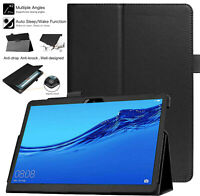 Case For Huawei Matepad T10 T10s Smart Leather Magnetic Flip Folding Stand Cover