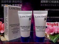 *Lancome* Renergie Nuit Multi-lift Anti-Wrinkle NIGHT Cream (5mlx2) FREE POST!