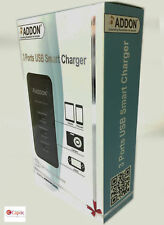 Universal USB Smart Charger 3 Ports Addon ADDSC300  with UK Power Adapter