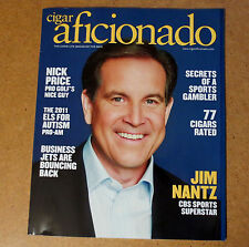 JIim Nantz CBS SPORTS CIGAR AFICIONADO MAGAZINE + Nick Price Golf + Joel Surnow