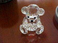 Swarovski Crystal Small Bear 7637 nr 054 in original box