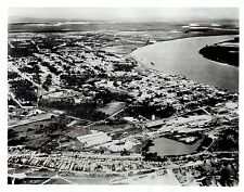 1941 Vintage Photo aerial city Natal of Rio Grande do Norte Brazil South America