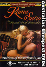 Kama Sutra Positions of the Perfumed Garden DVD NEW, FREE POST IN AUST REGION  4