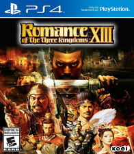 Romance of the Three Kingdoms XIII PS4 New PlayStation 4, PlayStation 4