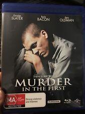 Murder In The First BLU RAY (region B) 1995 Kevin Bacon thriller movie * rare *