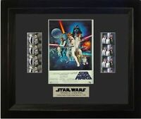 Star Wars A NEW HOPE 35mm Film Cell Display Luke Skywalker New MINT!