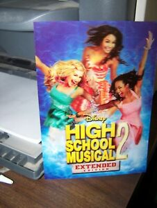 Disney HIGH SCHOOL MUSICAL2 extended edition 3d lenticular card