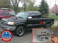 fit:1998-2002 Toyota Tundra Extended/Access Cab Chrome Flat Gas Cap Cover Accent