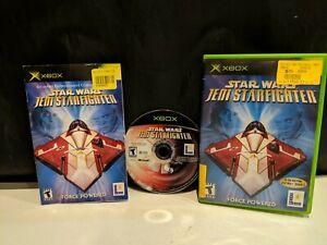 Star Wars Jedi Starfighter - Original Xbox 2002 -