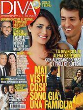 Diva.Alena Seredova,George Clooney,Valentina Lodovini,Massimo Lopez,Carlo Conti