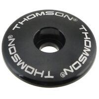 """Thomson Aluminum stem cap, 1-1/8"""" - black"""