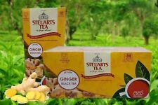 Ceylon STEUARTS GINGER Black TEA Original  25 Tea Bags