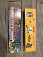 1989 Topps Baseball and 1990 Score Baseball Card Complete Sets